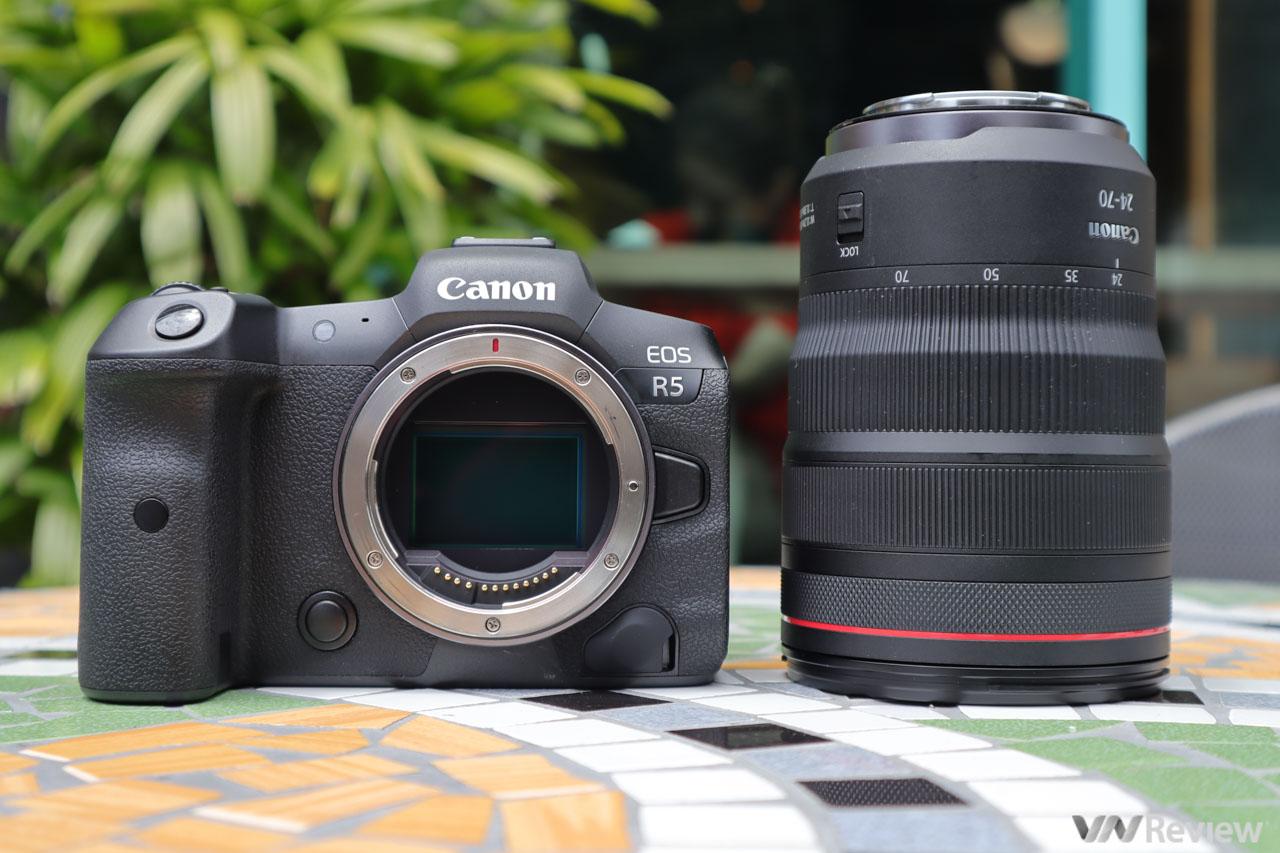 Đánh giá máy ảnh Canon EOS R5 VÀ R6