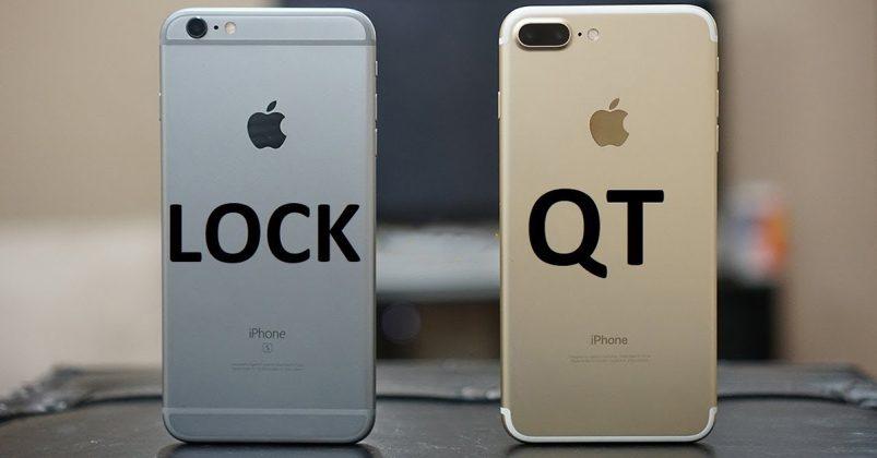 Cách phân biệt iPhone Quốc Tế và iPhone Lock