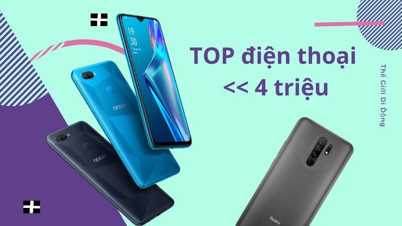 TOP điện thoại giá dưới 4 triệu đáng mua nhất 2021