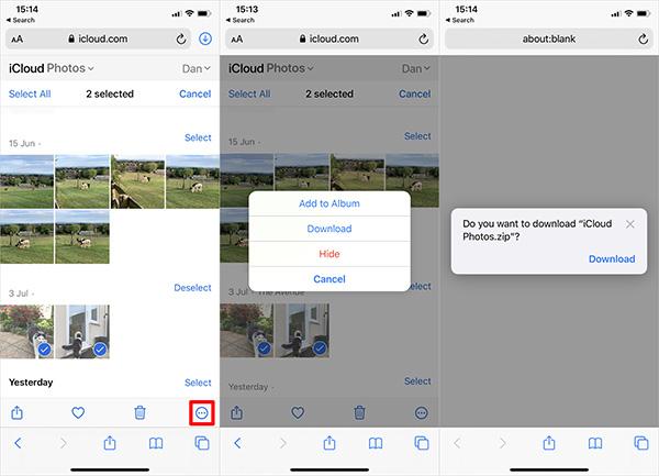 Hướng dẫn cách tải ảnh từ icloud về iPhone, Mac và Windows
