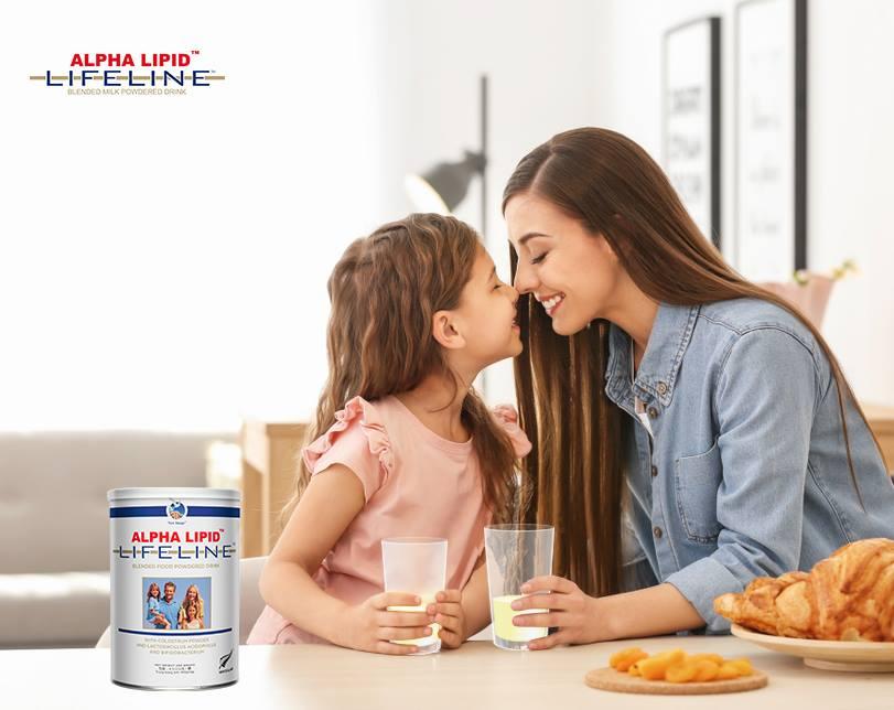 Sử dụng sữa non Alpha Lipid Lifeline có tốt không?