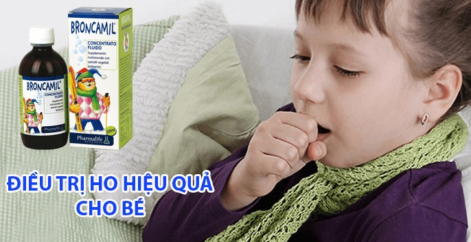 Siro Fitobimbi broncamil hỗ trợ giảm ho cho trẻ hiệu quả