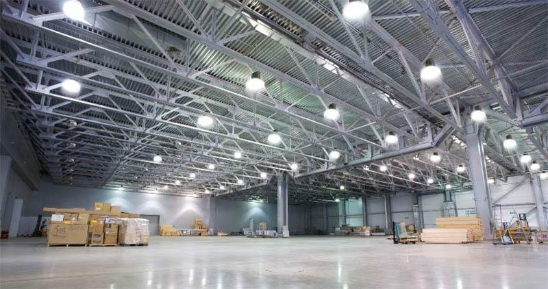 5 kinh nghiệm lắp đèn LED chiếu sáng nhà xưởng chuẩn theo diện tích